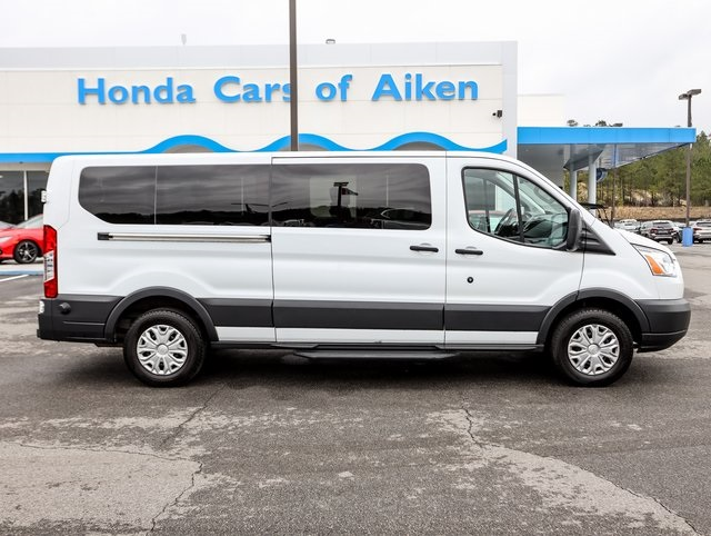 Pre-Owned 2018 Ford Transit-350 XLT RWD 3D Low Roof Wagon