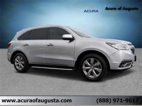 Pre-Owned 2015 Acura MDX 3.5L Advance Pkg AWD 4D Sport Utility