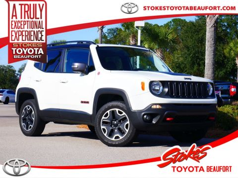 Pre-Owned 2016 Jeep Renegade Trailhawk 4WD 4D Sport Utility